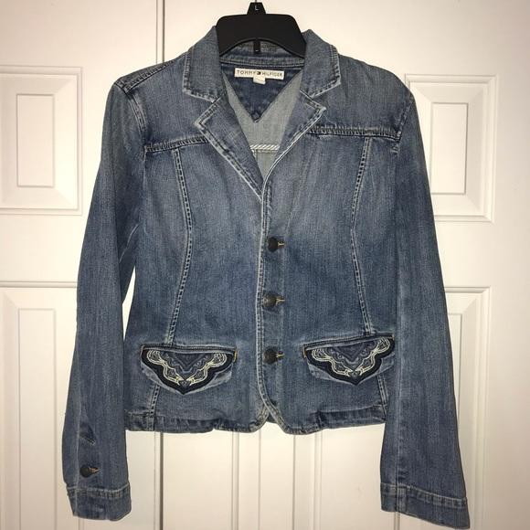 Tommy Hilfiger Jackets & Blazers - EUC Vintage Tommy Hilfiger Jean Jacket Size M.